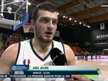 Replay Basket Ball - La réaction du dijonnais Axel Julien après la victoire des siens : Basketball Champions League