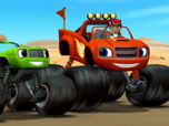Replay Blaze et les Monster Machines - La course de camion
