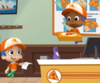Replay Bubulle Guppies - A la pizzeria