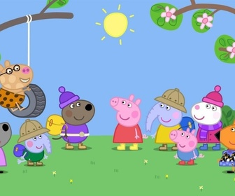 Replay Peppa Pig en anglais - S1 E40 : Very Hot Day / Une chaude journée