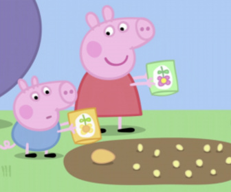 Replay Peppa Pig - S4 E12 : Le jardin de Peppa et George