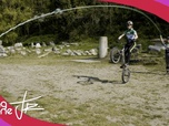 Replay Riding Zone Junior - S2 E25 : 25 - Trott' | Plongeon artistique | VTT trial