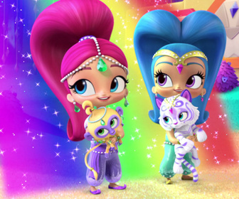 Replay Le temple du tigre arc-en-ciel - Shimmer & Shine