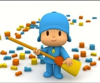 Replay Pocoyo - le balai