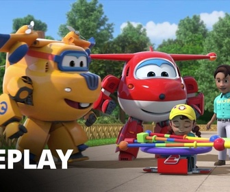 Replay Super Wings - La balançoire