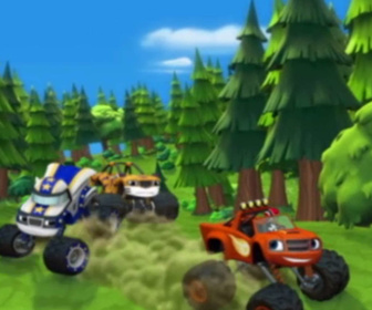 Replay Blaze et les Monster Machines - Les camions ours