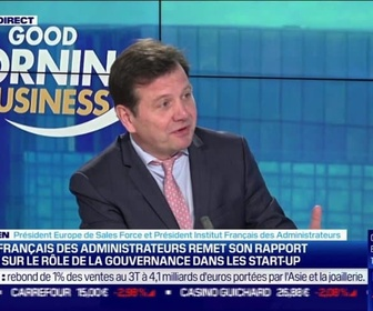 Replay Good Morning Business - Denis Terrien (Sales Force) : Le rapport de l'IFA sur le rôle de la gouvernance dans les startups - 20/01