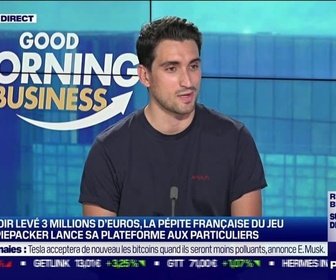 Replay Good Morning Business - Benjamin Devienne (Piepacker) : Piepacker lance sa plateforme aux particuliers - 14/06