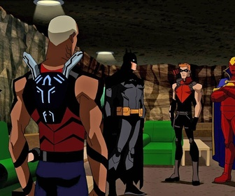 Replay Young Justice - S1 E25 : Les suspects habituels