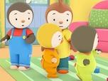 Replay T'choupi à l'école - S2 E9 : Les petits papas