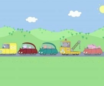 Replay Peppa Pig - S2 E13 : L'embouteillage