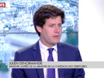 Replay L'interview de Julien Denormandie