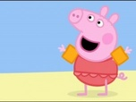 Replay Peppa Pig - S1 E46 : A la plage