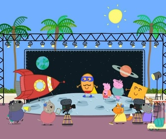 Replay Peppa Pig - S9 E4 : Hollywood