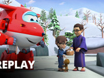 Replay Super Wings - La source chaude