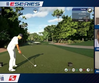 Replay Golf - TPC Sawgrass / Ortiz - Fitzpatrick : PGA Tour ESeries - Round 2