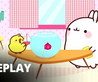Replay Molang - Le poisson rouge