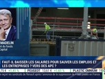 Replay Good Morning Business - Faut-il baisser les salaires ? Alain Madelin s'y oppose
