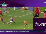 Replay Football - Everton / Manchester United : Le but annulé en toute fin de match : Premier League