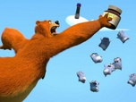 Replay Grizzy et les lemmings - S2 E73 : Ours traversant
