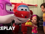 Replay Super Wings - Les statues volantes