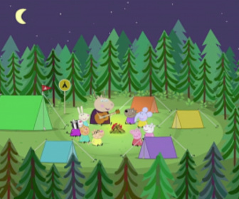 Replay Peppa Pig - S1 E35 : Le camping